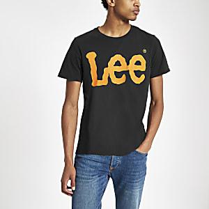 Lee – T-Shirt mit Rundhalsausschnitt und Logoprint