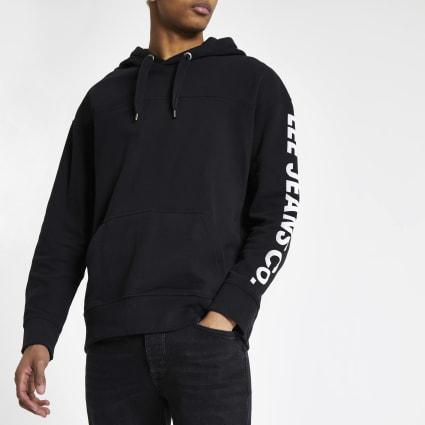 Lee black hoodie