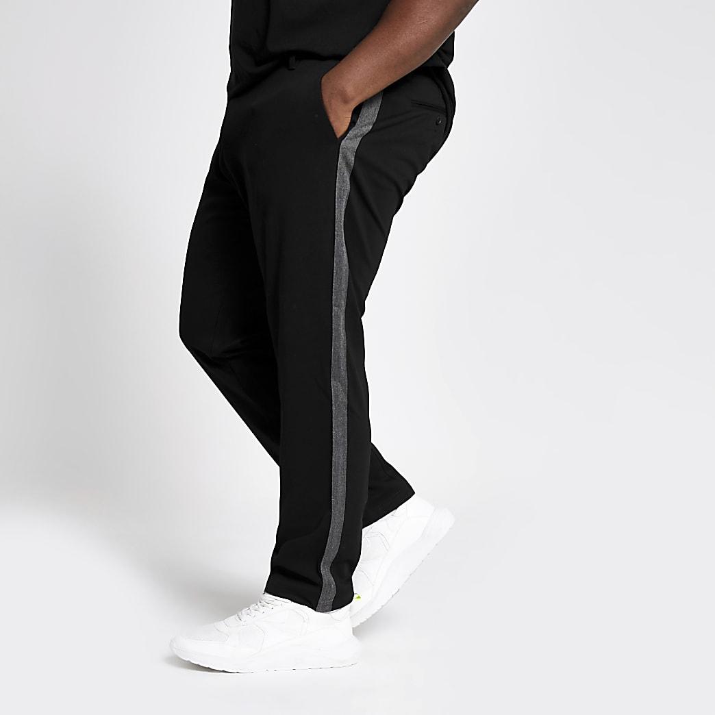 Big & Tall – Only & Sons – Pantalon rayé