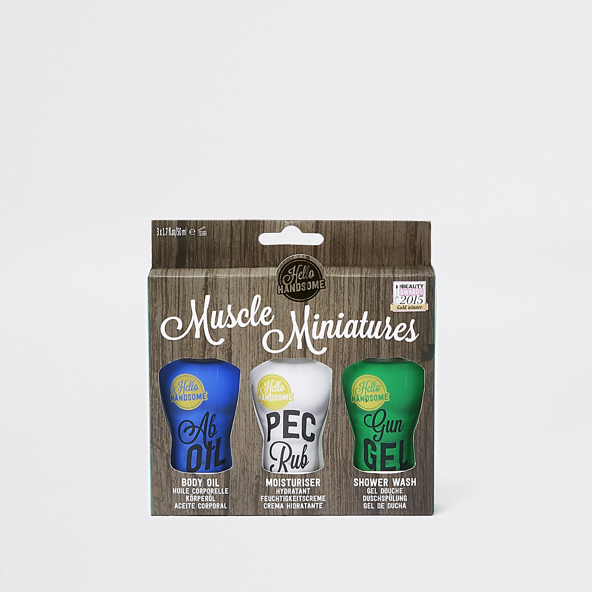 White Muscle Miniatures shower set