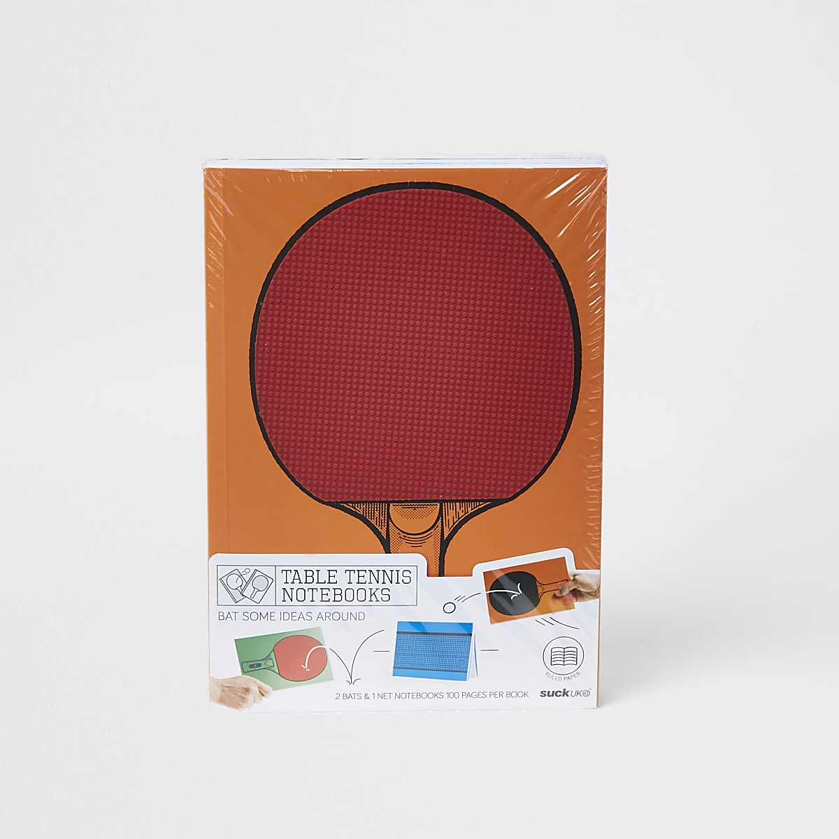 Orange table tennis note books