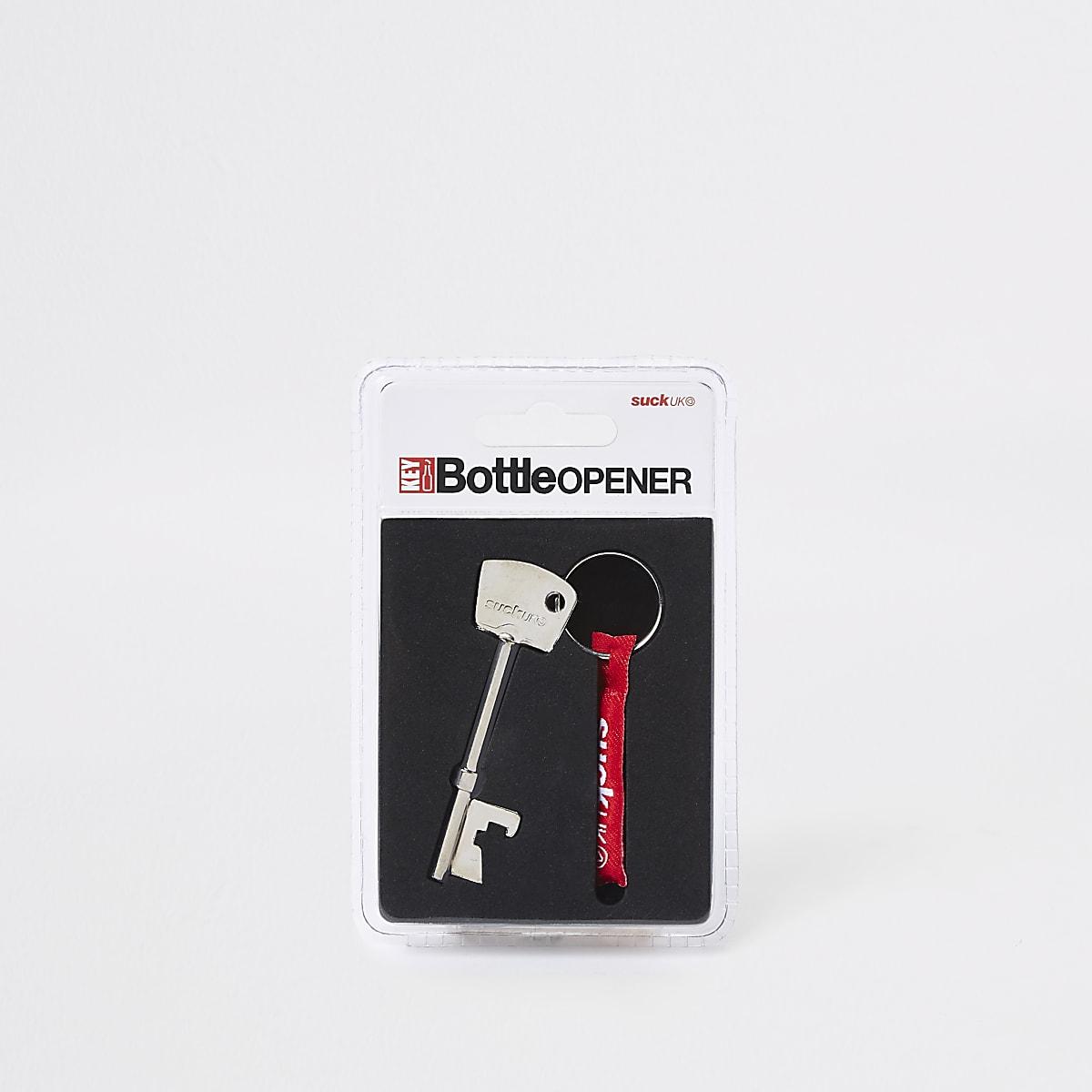 Ouvre-bouteille clé gris