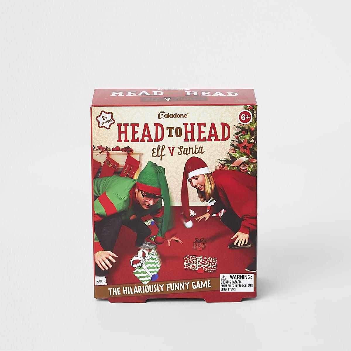 Red Head to Head Elf Vs Santa game