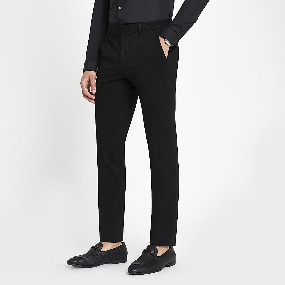Zwarte superskinny pantalon
