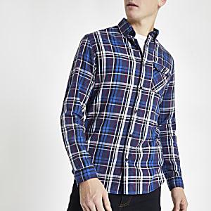Jack & Jones - Rood geruit overhemd