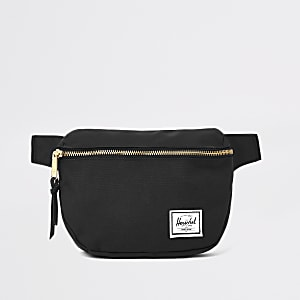 c470f50950 Herschel black Fifteen hip pack