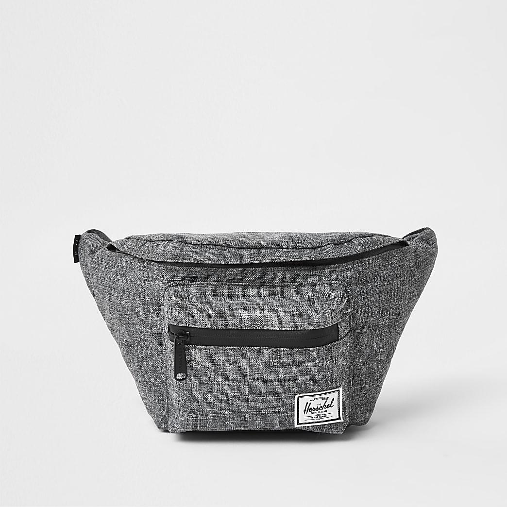 Herschel grey Seventeen crosshatch hip pack