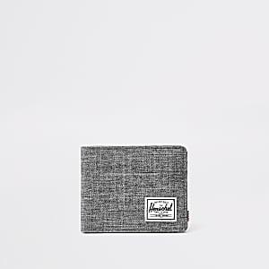 Herschel - Roy - Grijze portemonnee met ruitpatroon