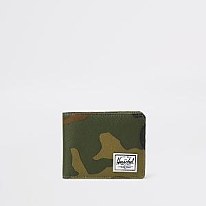 Herschel - Roy - Portemonnee met camouflageprint