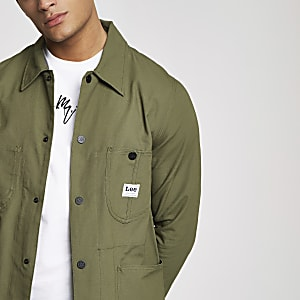 Lee dark green loco jacket