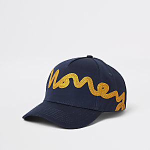Money Clothing navy baseball cap