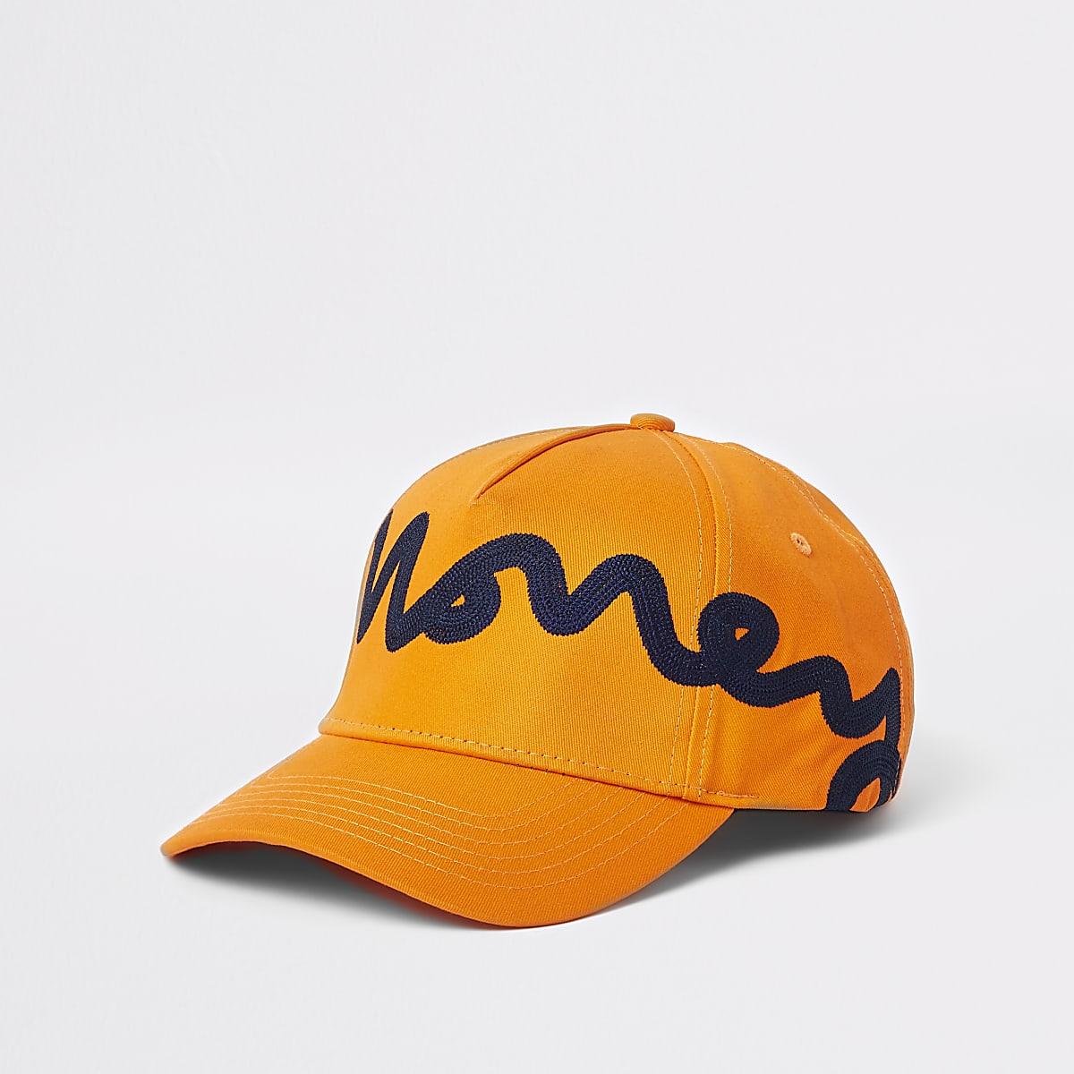 Money Clothing – Casquette de baseball orange
