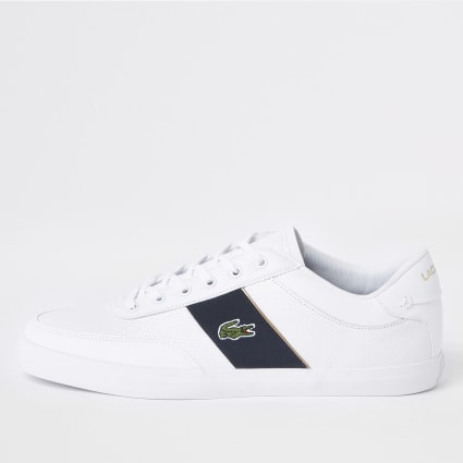 Lacoste white leather Courtmaster trainers