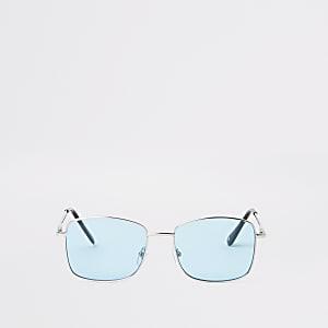 Sonnenbrille mit blauen Gläsern