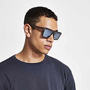 Sonnenbrille in mattem Grau
