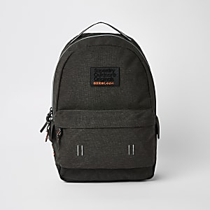 Superdry dark grey backpack