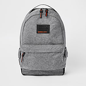 Superdry grey backpack