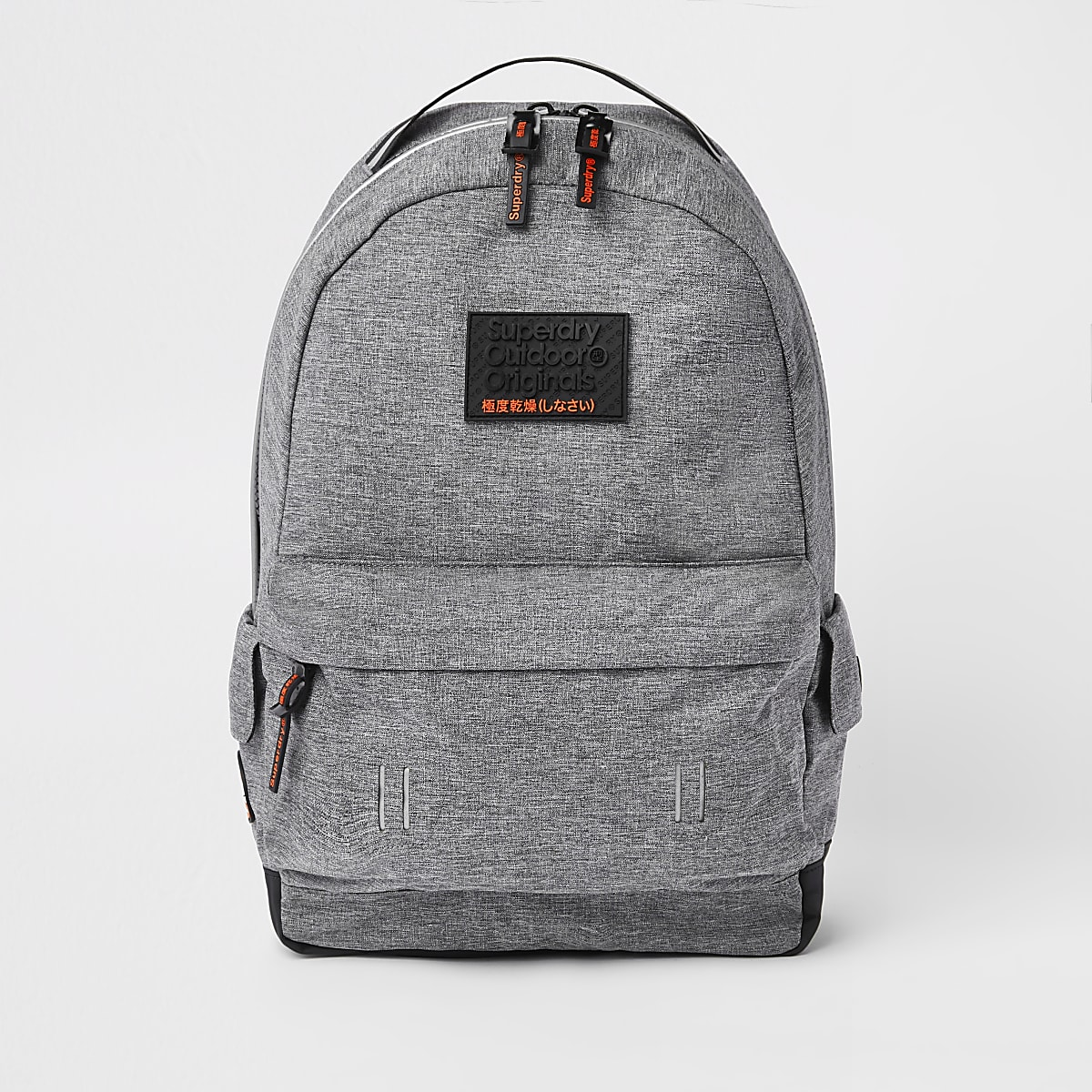 Superdry grey backpack