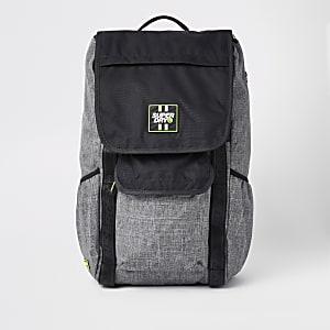Superdry black Semester rucksack