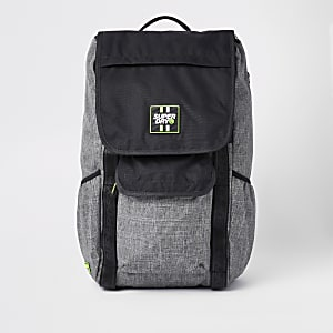 Superdry black Semester backpack