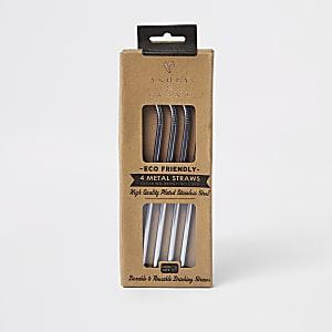 Eco friendly metal straws