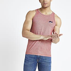 Superdry pink vest