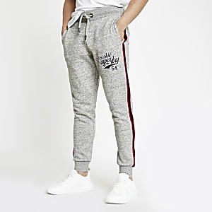 Superdry grey applique joggers