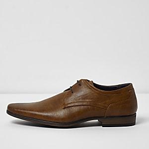 Derby-Schuhe zum Schnüren, weite Passform