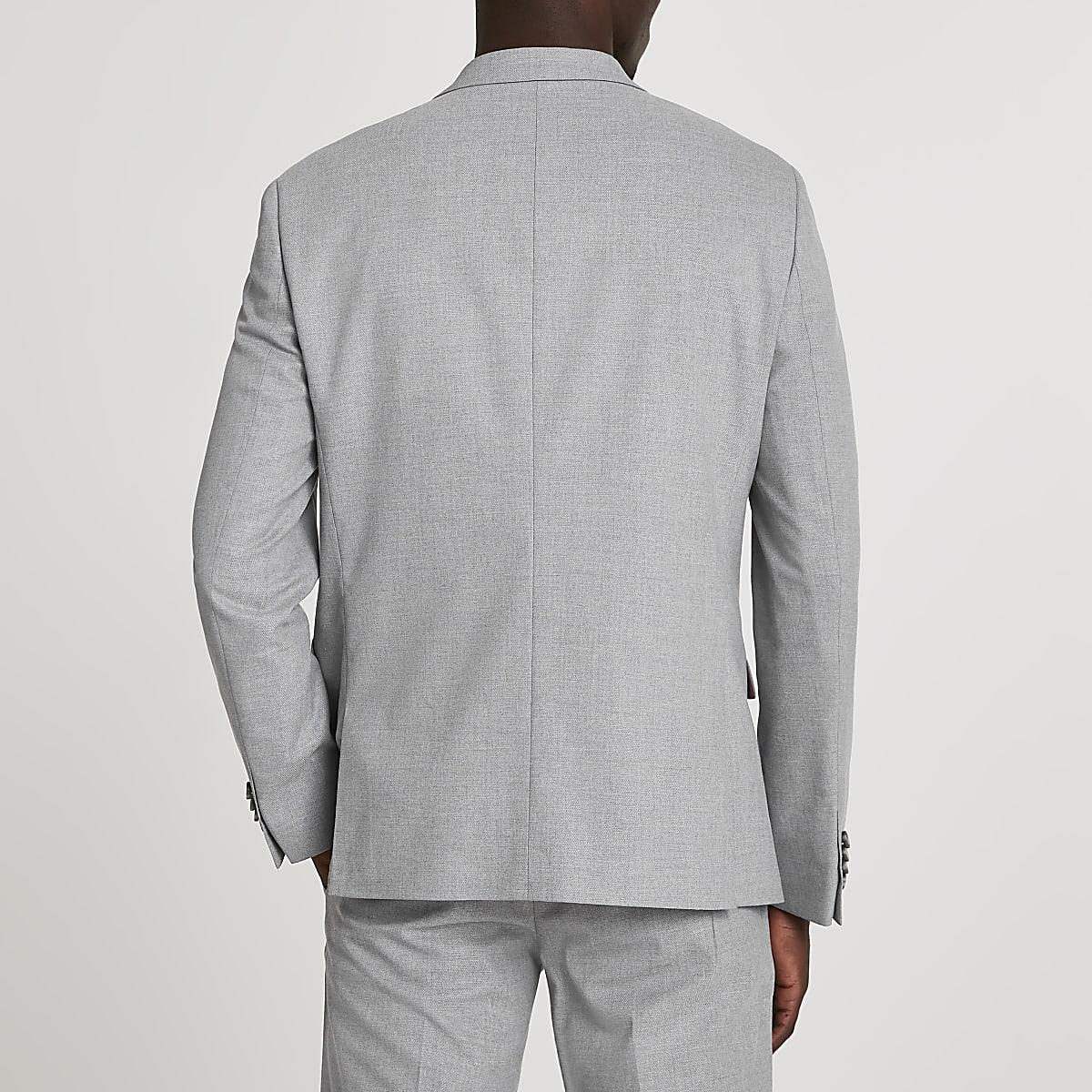 Veste de costard grise