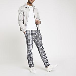 Grey long sleeve Harrington jacket