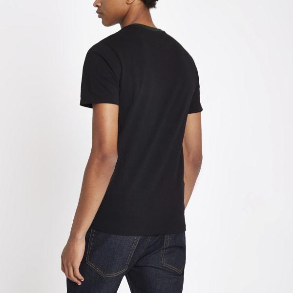 River Island - t-shirt ras-du-cou color block - 2