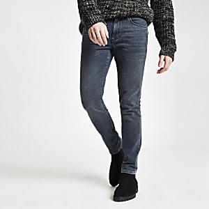 Dark blue Sid skinny stretch jeans