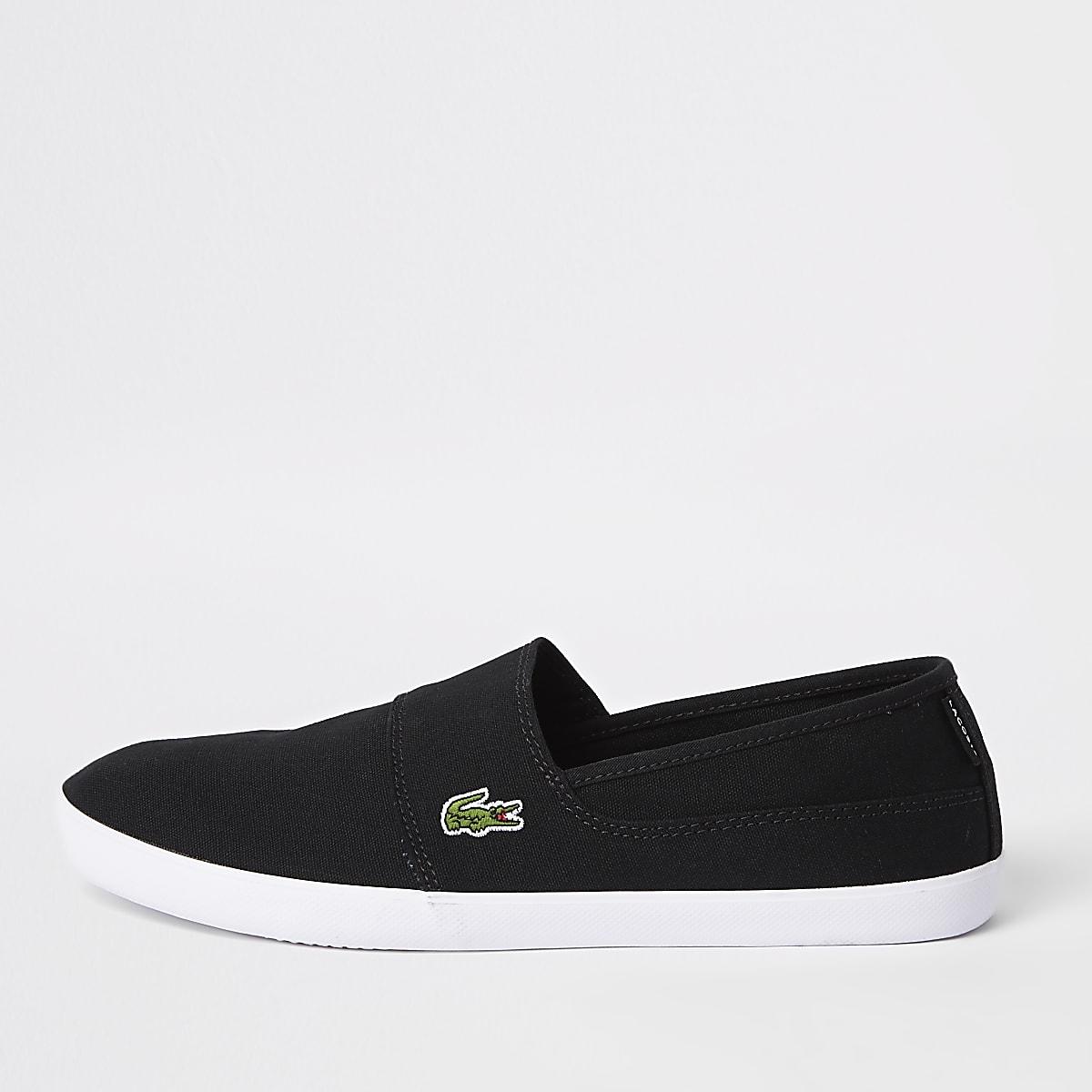 Lacoste – Schwarze Sneaker