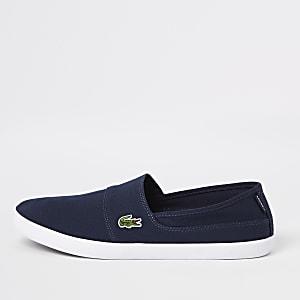 Lacoste – Marineblaue Sneaker