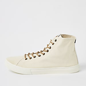 Levi's stone mid top sneakers