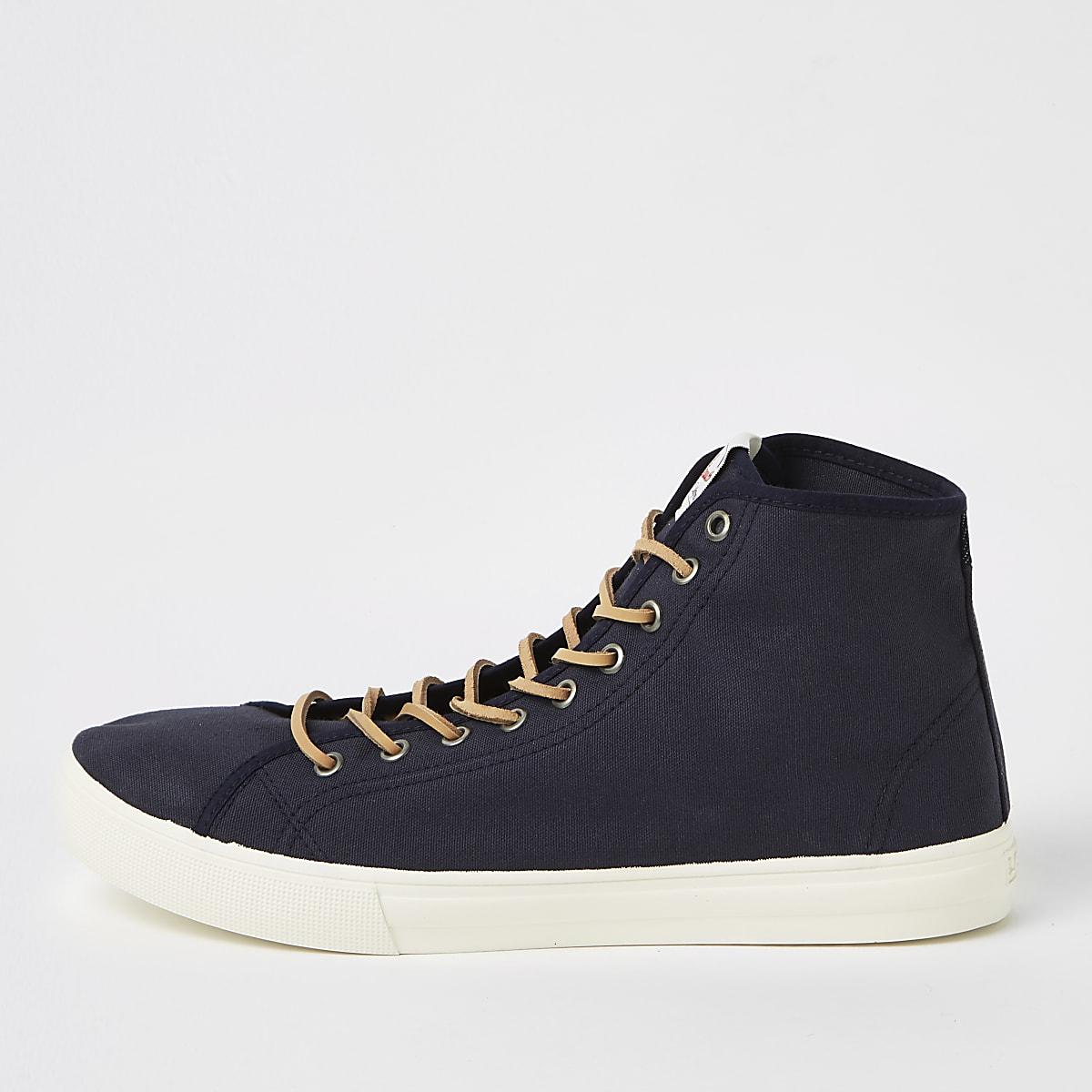 Levi's – Baskets bleu marine mi-hautes