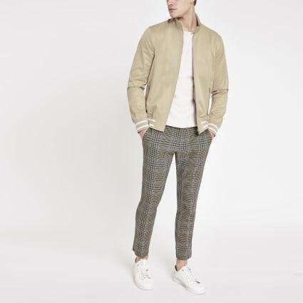 Stone tipped Harrington jacket
