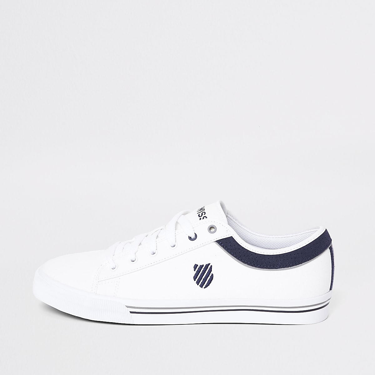 K-Swiss white Bridgeport trainers