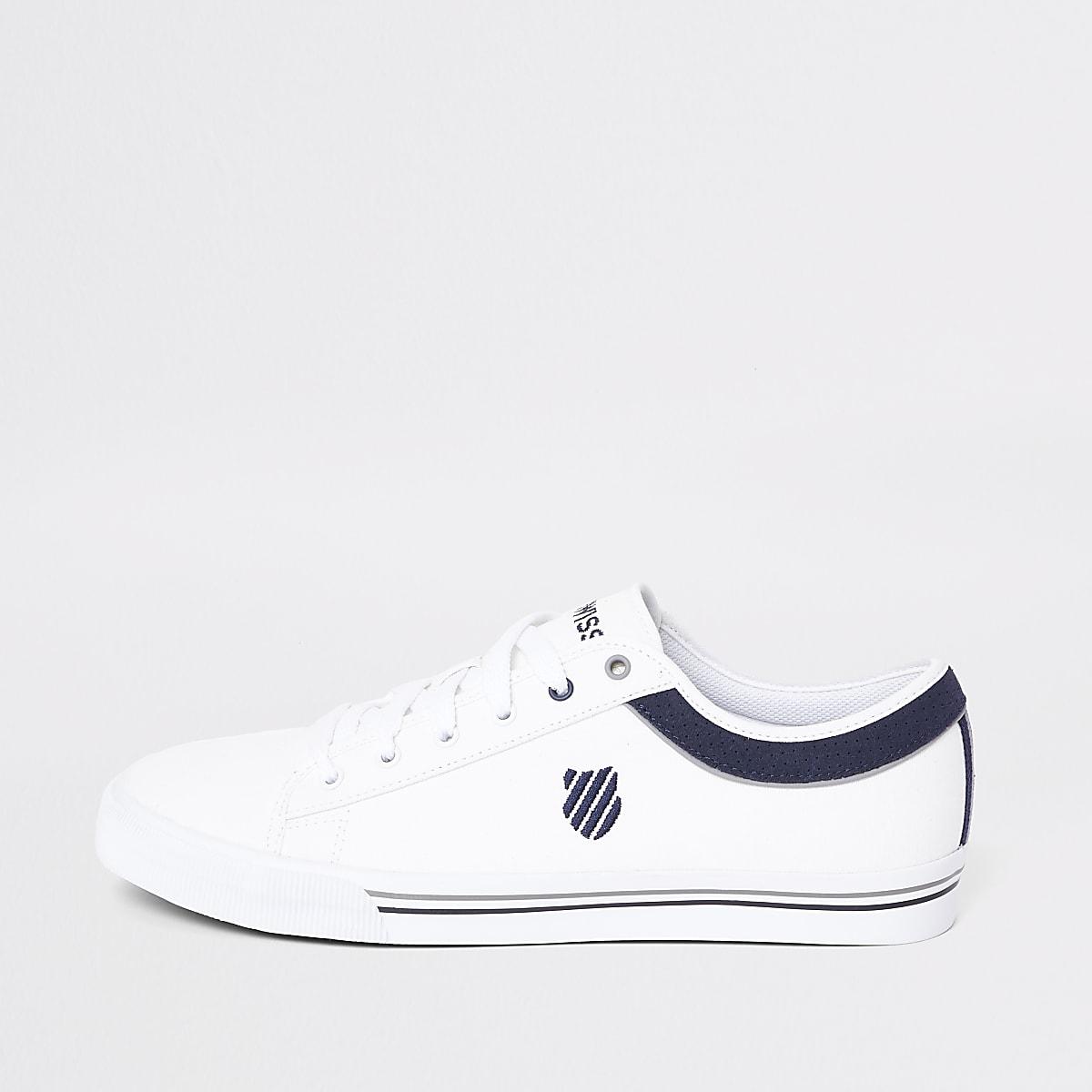37d228e6336 K-Swiss Bridgeport - Witte sneakers - Sneakers - Schoenen & Laarzen ...