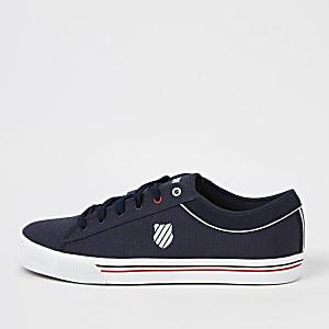 K-Swiss – Bridgeport – Marineblaue Sneaker