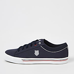 K-Swiss navy Bridgeport sneakers
