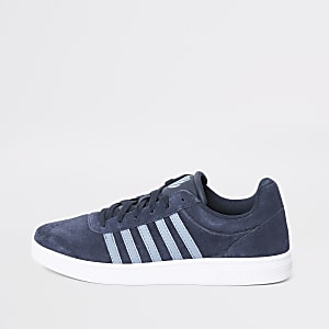 K-Swiss blue Court Cheswick trainers