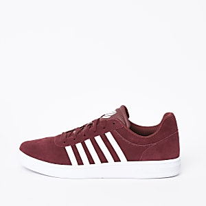 K-Swiss – Court Cheswick – Baskets rouges