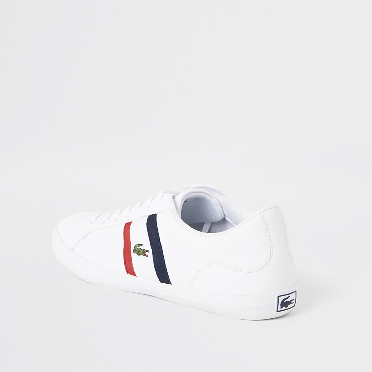 77ac6c9403c9 Lacoste Lerond white leather trainers - Trainers - Shoes   Boots - men