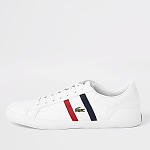 Lacoste Lerond white leather sneakers