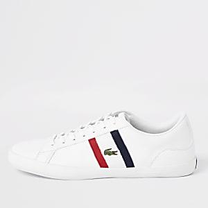 Lacoste – Lerond – Baskets en cuir blanches