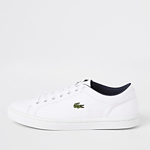Lacoste – Straightset – Baskets blanches