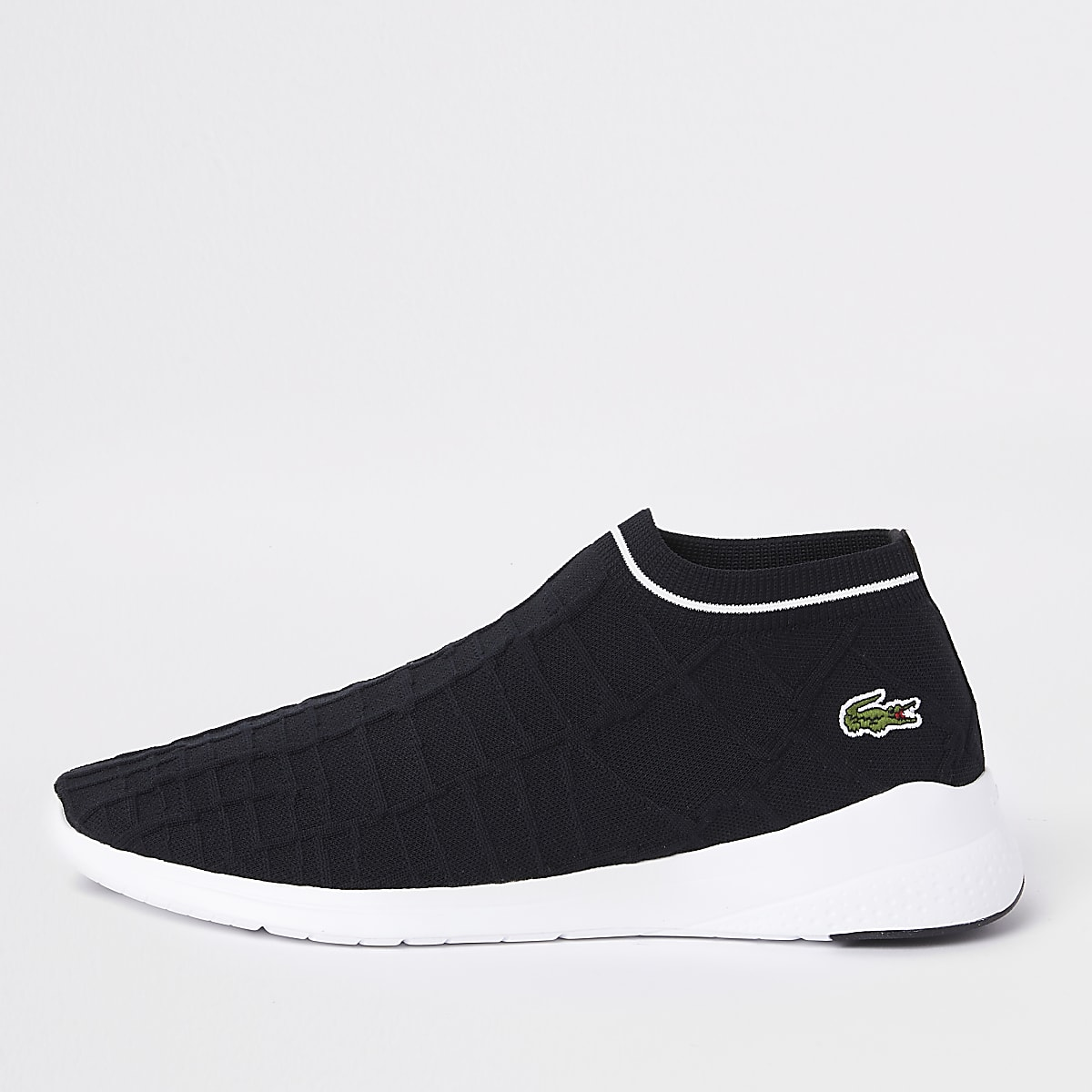 1a5fc7af3644 Lacoste black sock trainers - Trainers - Shoes   Boots - men