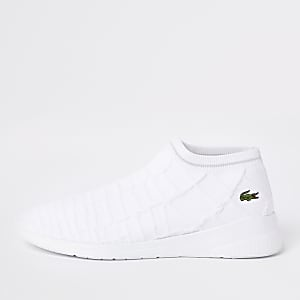 Lacoste white sock sneakers