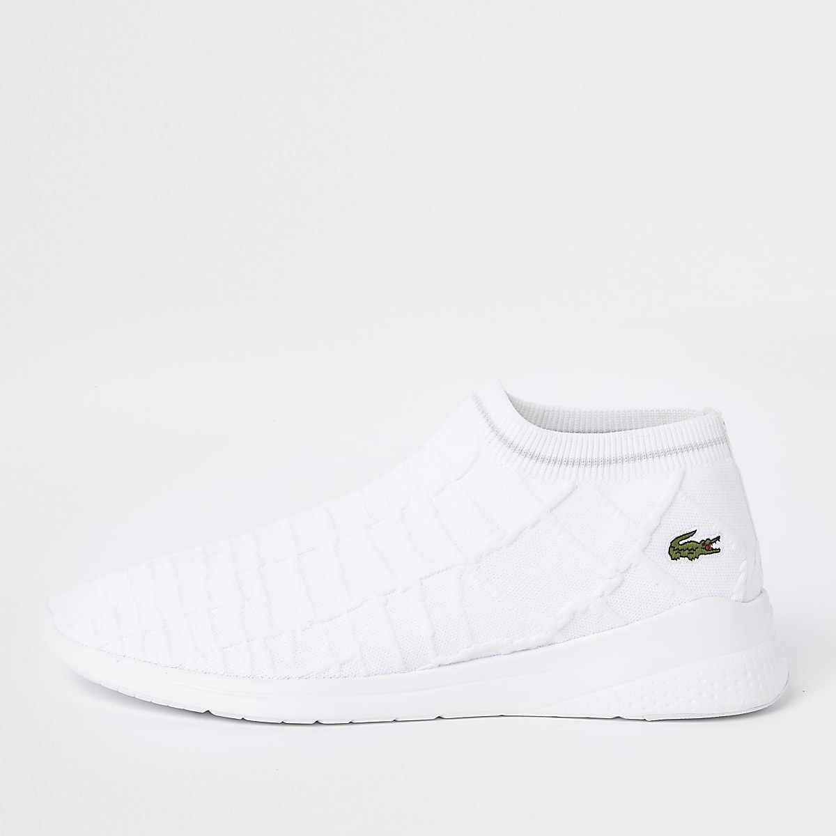 33bd54ee69ba Lacoste white sock trainers - Trainers - Shoes   Boots - men